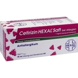 CETIRIZIN HEXAL SAFT B ALL